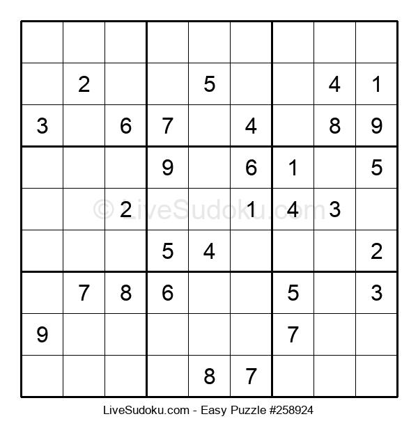 Beginners Puzzle #258924