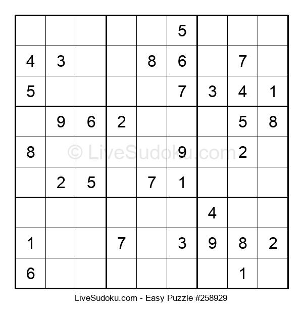 Beginners Puzzle #258929