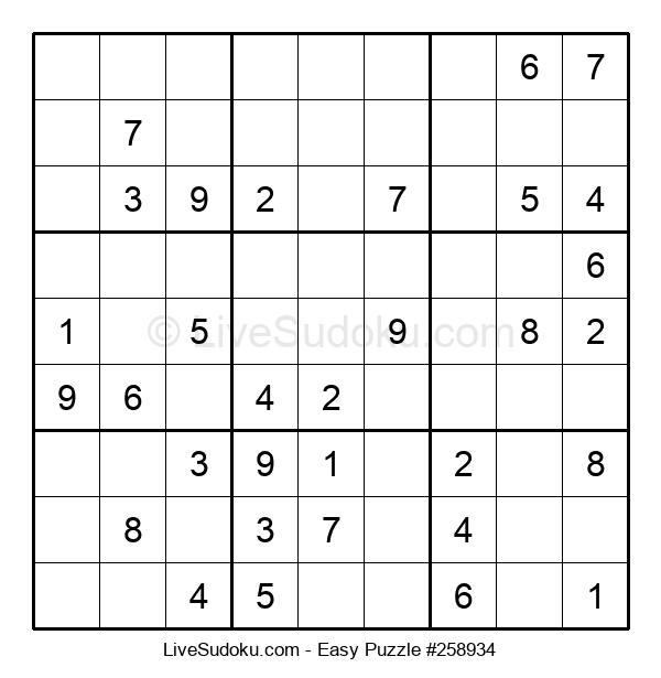 Beginners Puzzle #258934