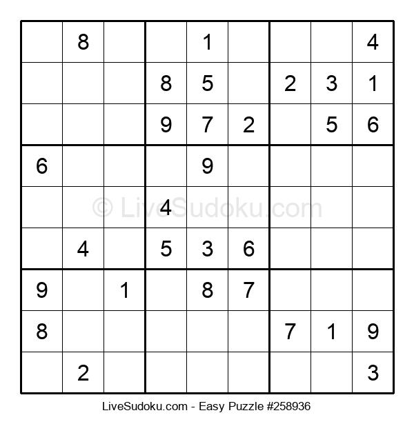 Beginners Puzzle #258936