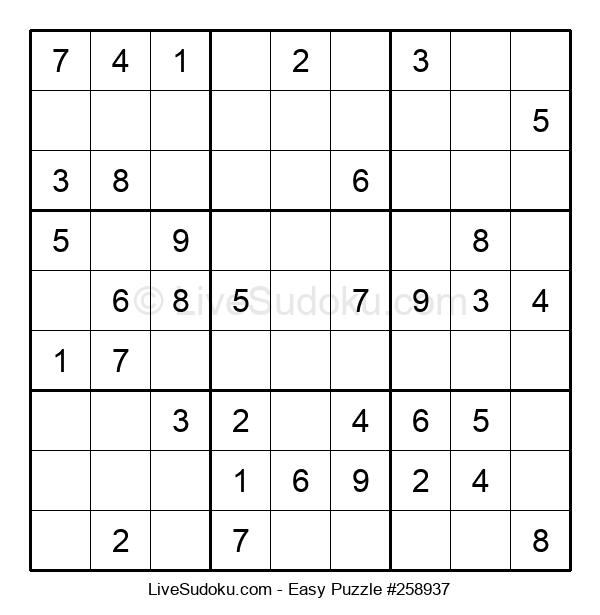 Beginners Puzzle #258937