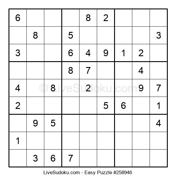 Beginners Puzzle #258946