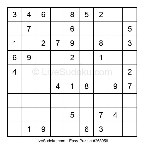 Beginners Puzzle #258956