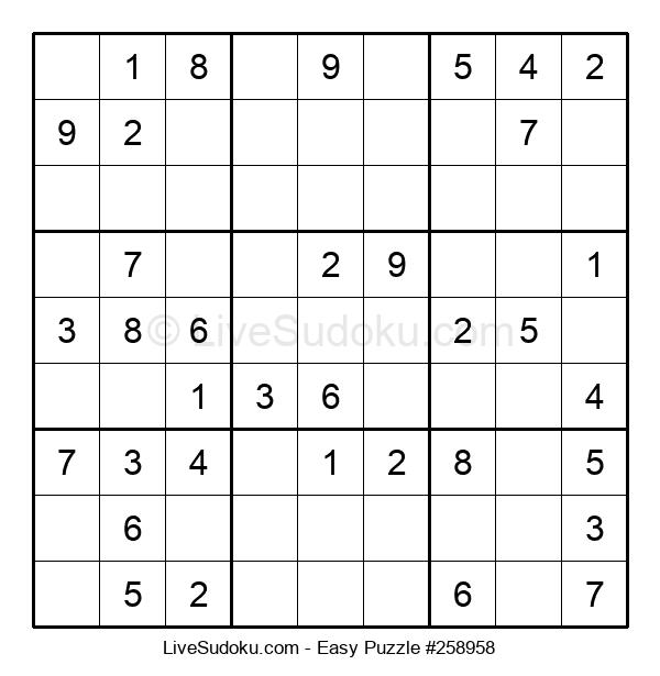 Beginners Puzzle #258958