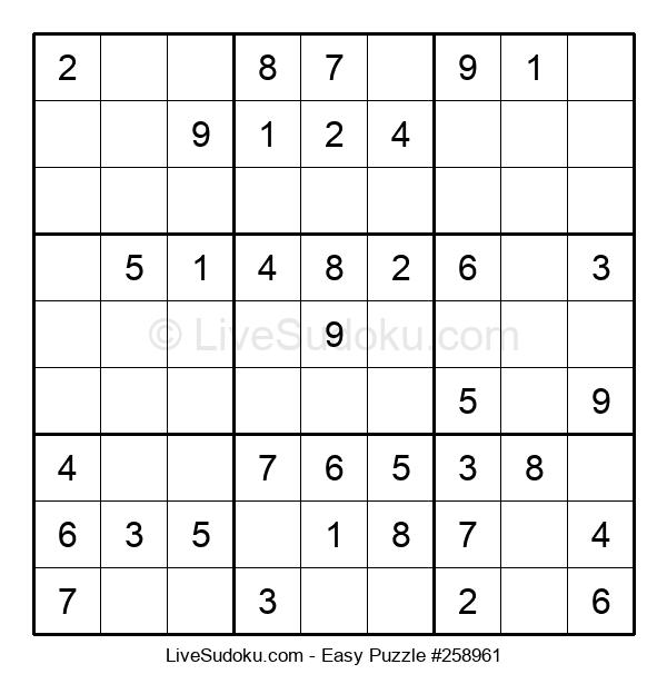 Beginners Puzzle #258961