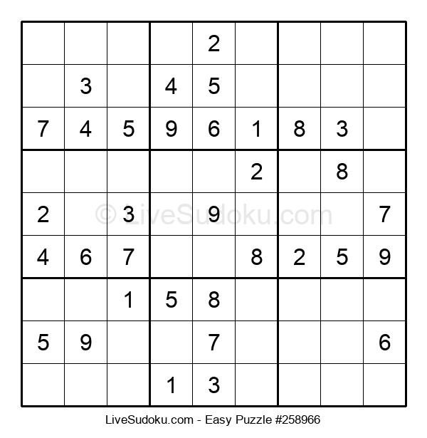 Beginners Puzzle #258966