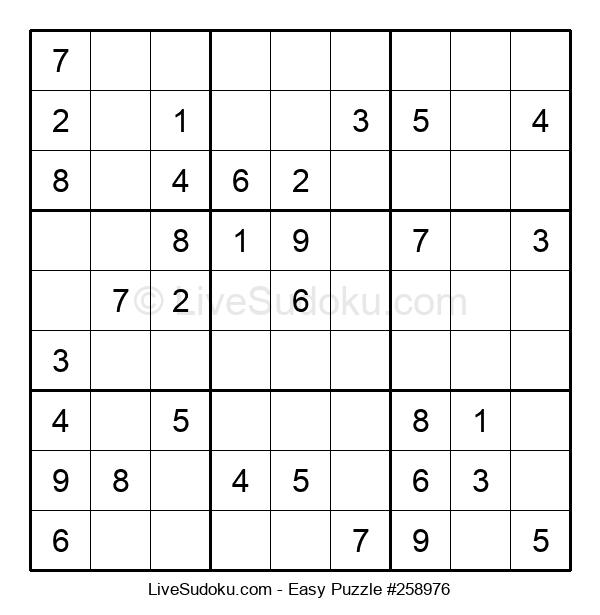 Beginners Puzzle #258976