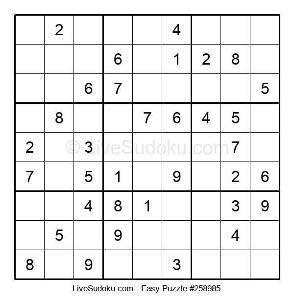 Beginners Puzzle #258985
