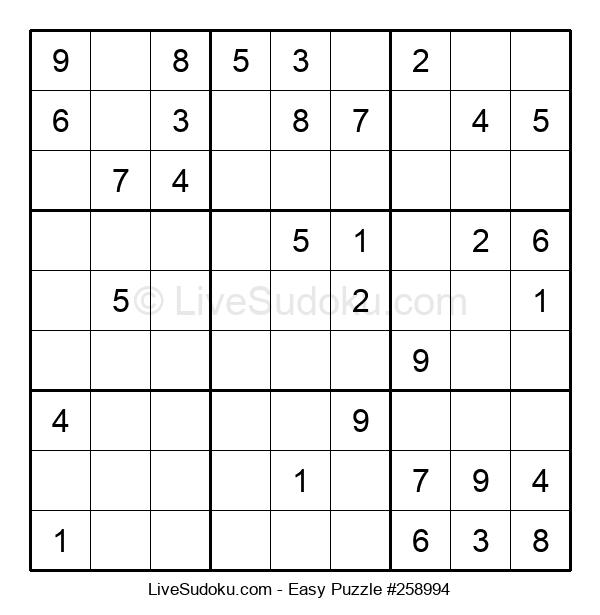 Beginners Puzzle #258994