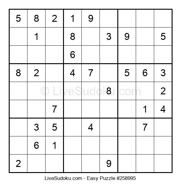 Beginners Puzzle #258995
