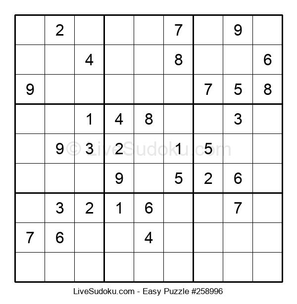 Beginners Puzzle #258996