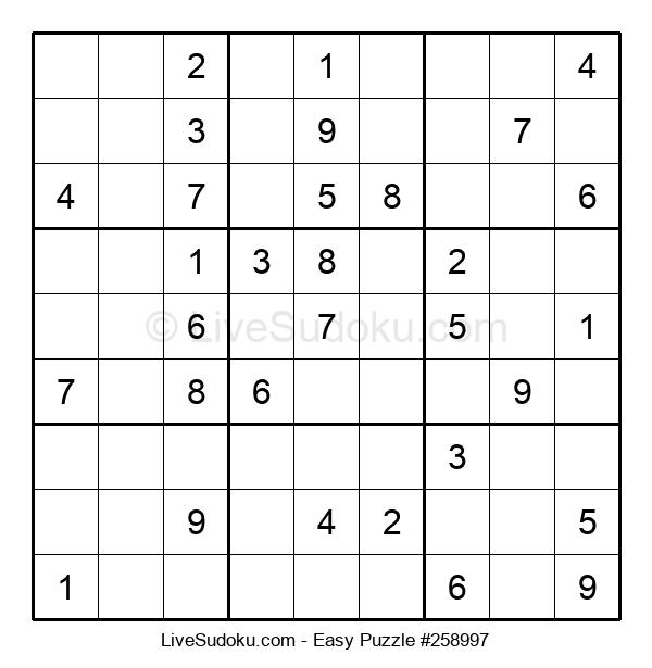 Beginners Puzzle #258997
