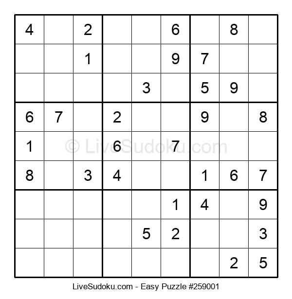 Beginners Puzzle #259001