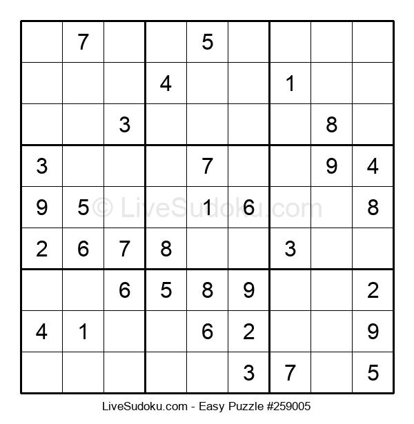 Beginners Puzzle #259005