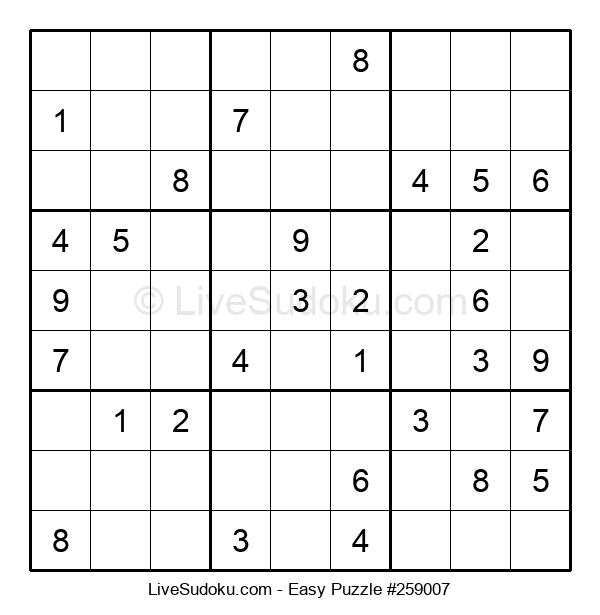 Beginners Puzzle #259007