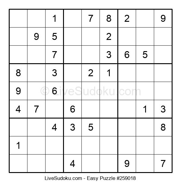 Beginners Puzzle #259018
