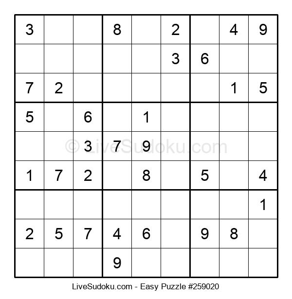 Beginners Puzzle #259020