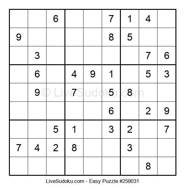Beginners Puzzle #259031