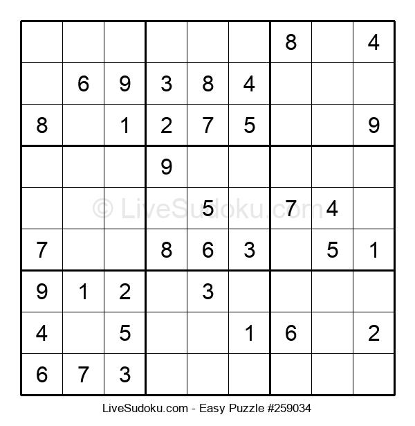 Beginners Puzzle #259034