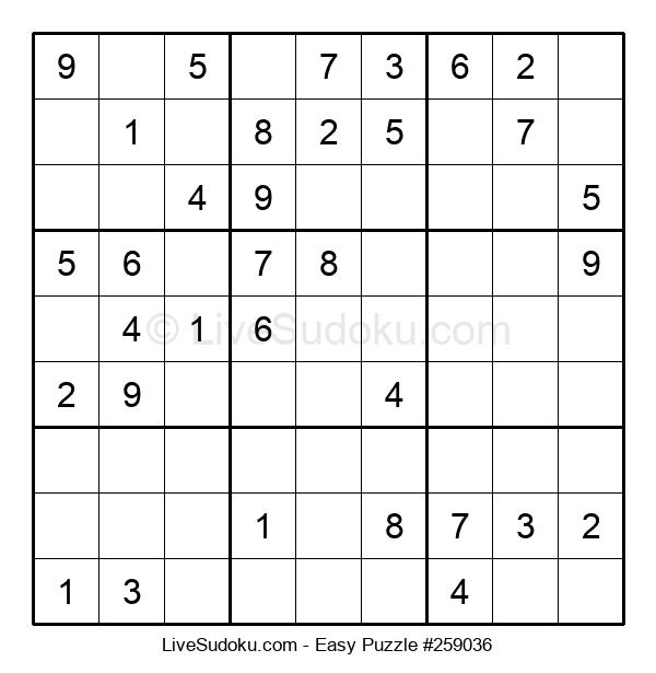 Beginners Puzzle #259036