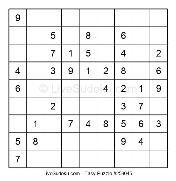 Beginners Puzzle #259045