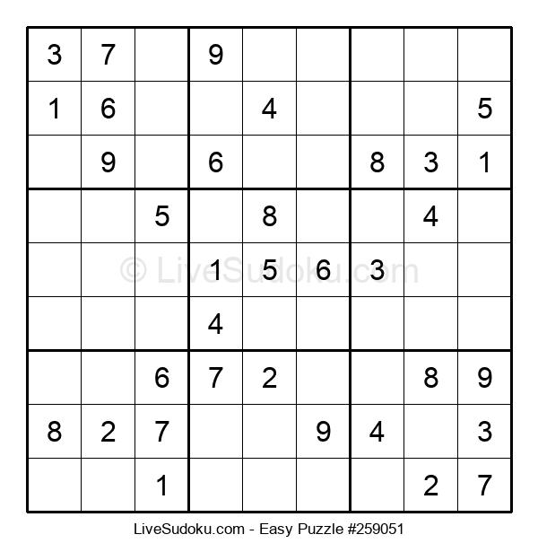Beginners Puzzle #259051