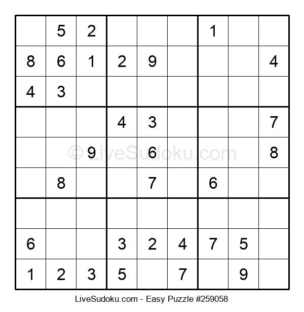 Beginners Puzzle #259058