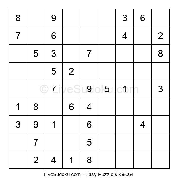 Beginners Puzzle #259064