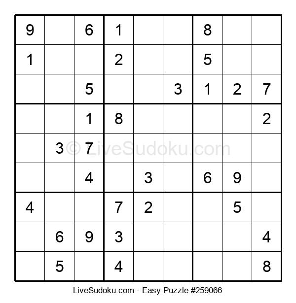 Beginners Puzzle #259066