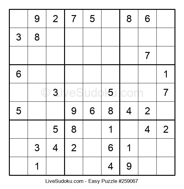 Beginners Puzzle #259067