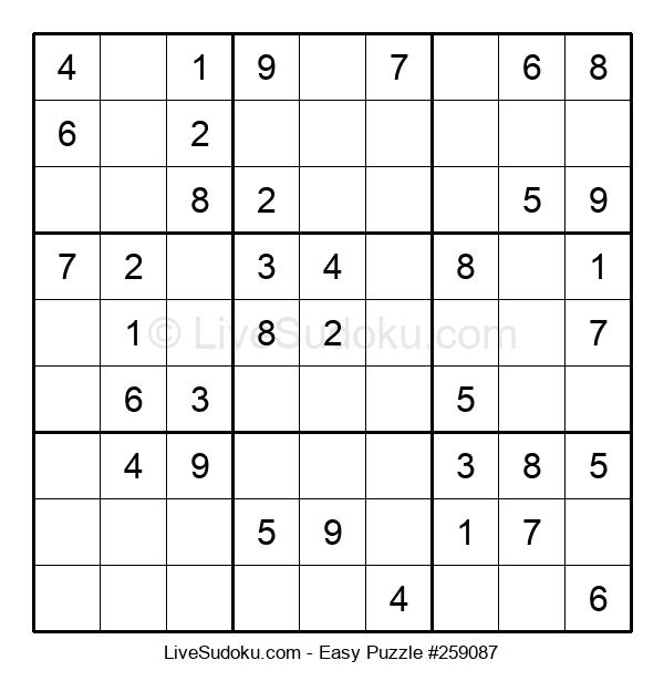 Beginners Puzzle #259087