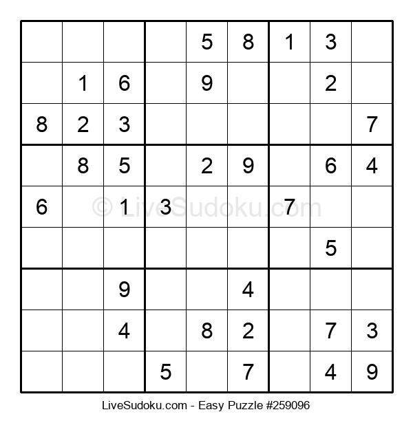 Beginners Puzzle #259096
