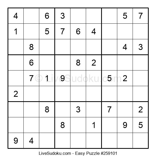 Beginners Puzzle #259101