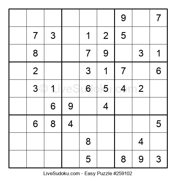 Beginners Puzzle #259102