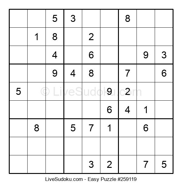 Beginners Puzzle #259119