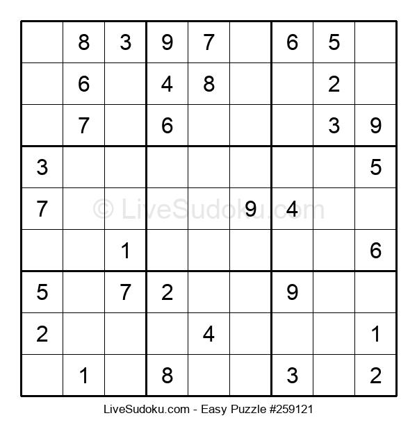 Beginners Puzzle #259121