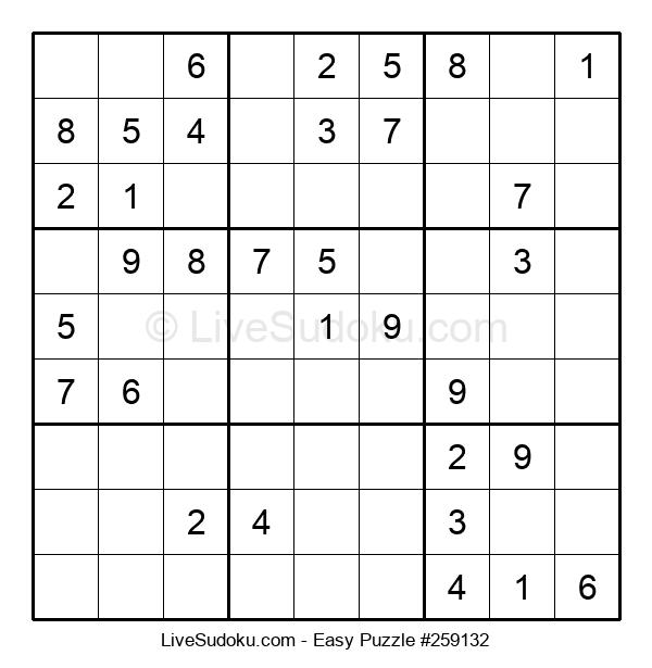 Beginners Puzzle #259132