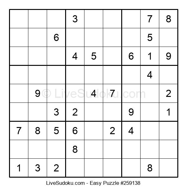 Beginners Puzzle #259138