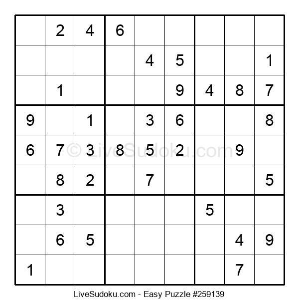 Beginners Puzzle #259139