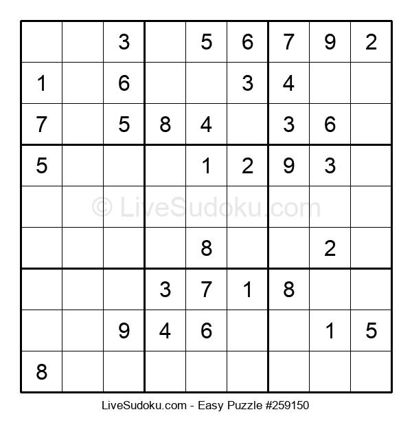 Beginners Puzzle #259150