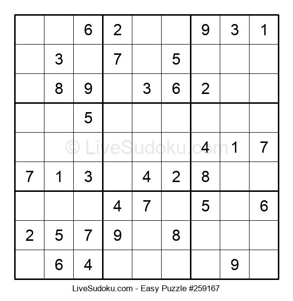 Beginners Puzzle #259167