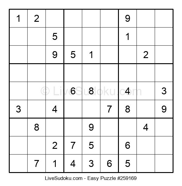Beginners Puzzle #259169