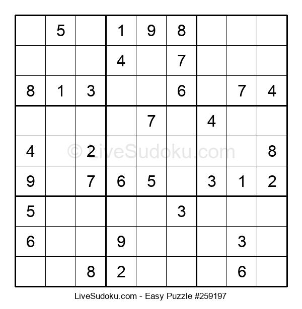Beginners Puzzle #259197