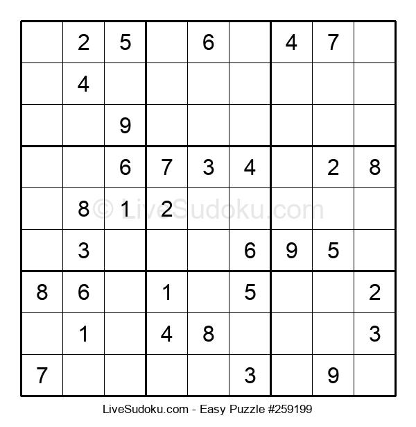 Beginners Puzzle #259199