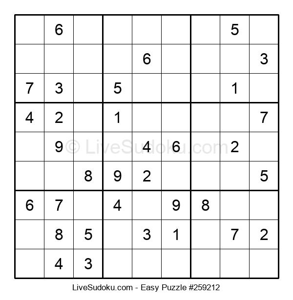 Beginners Puzzle #259212