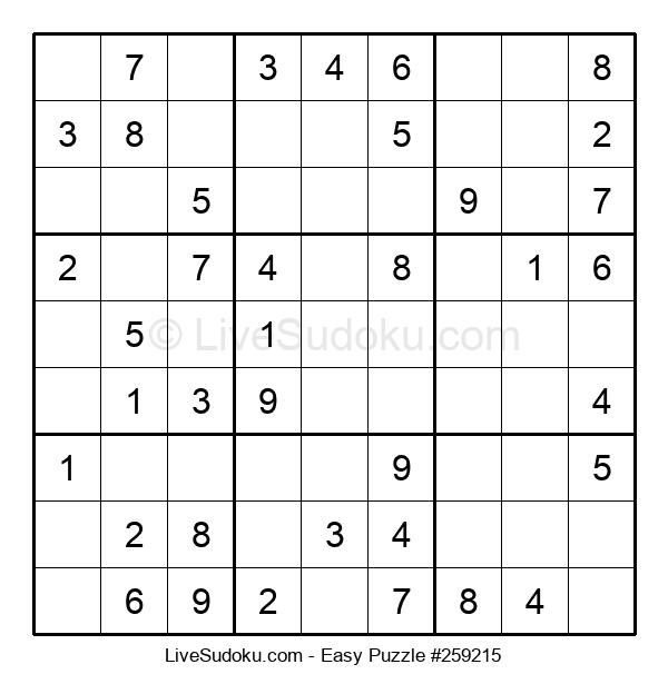 Beginners Puzzle #259215