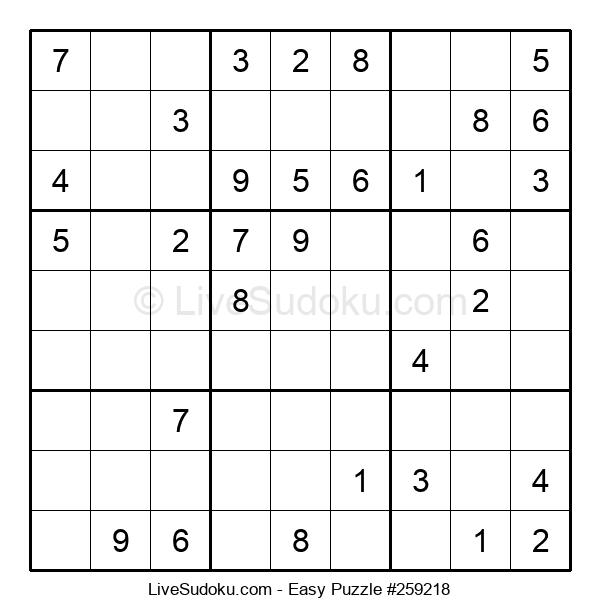 Beginners Puzzle #259218