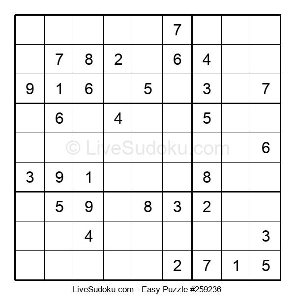 Beginners Puzzle #259236