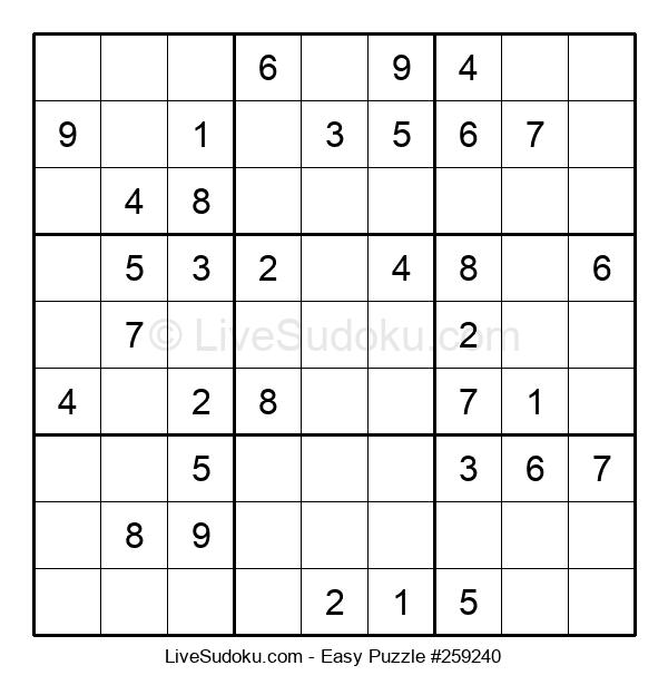 Beginners Puzzle #259240