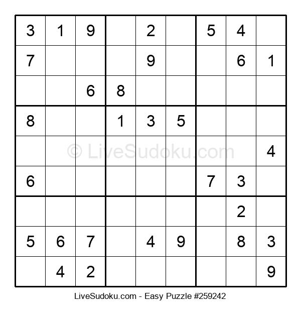 Beginners Puzzle #259242